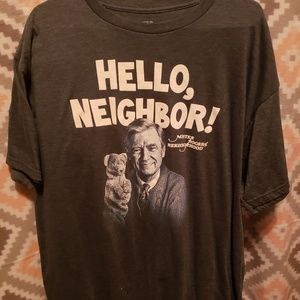 Mr Rogers Hello Neighbor Tshirt Size 2X
